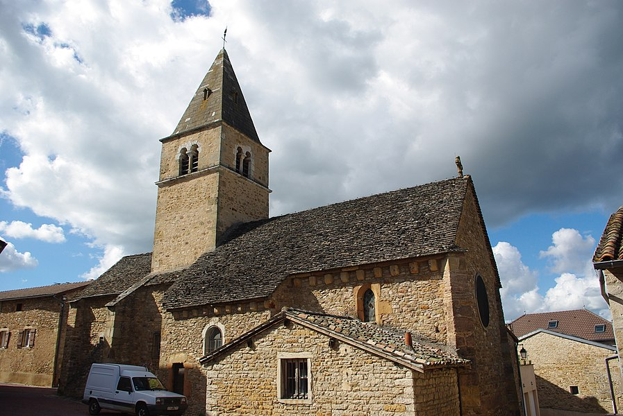 Église de Milly-Lamartine (71)