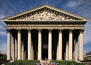 The Madeleine Church in Paris