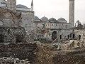Üç Şerefeli Mosque during restoration 4364.jpg