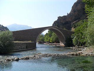 Şekerpınarı Bridge bridge in Turkey