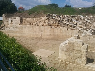 Larissa - Ruins of the second ancient theatre
