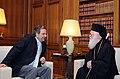 Αντώνης Σαμαράς - Συνάντηση με Αρχιεπίσκοπο Αλβανίας 7727796186.jpg