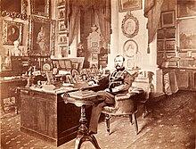 Alexander II. in seinem Kabinett im Winterpalast (Quelle: Wikimedia)