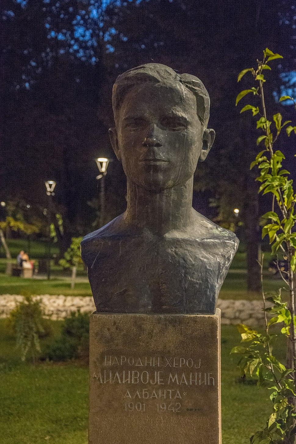 Биста Миливоју Манићу, Пирот