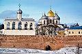 Великий Новгород - Собор Святой Софии и Святая звонница.jpg
