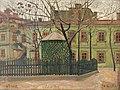 Владимир Давидович Баранов-Россине Зеленый дом на площади.jpg