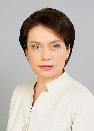 Liliya Hrynevych - Image: Гриневич Л.М