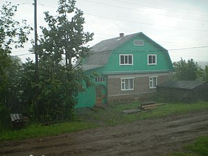 Nagorsky District - Rainy day in Nagorsky District
