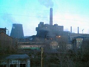 Yenakiieve - Yenakiieve steel works