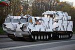 ЗРК 9К331МДТ Тор-М2ДТ на базе двухзвенного гусеничного транспортера ДТ-30ПМ - Тренировка к Параде Победы 2017 03.jpg