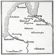 Карта к статье «Даленкирхен». Военная энциклопедия Сытина (Санкт-Петербург, 1911-1915).jpg