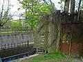 Кронштадт. Обводный канал, два типа ограды.jpg