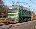М62-1342, Украина, Винницкая область, перегон Сосонка - Винница (Trainpix 124486).jpg
