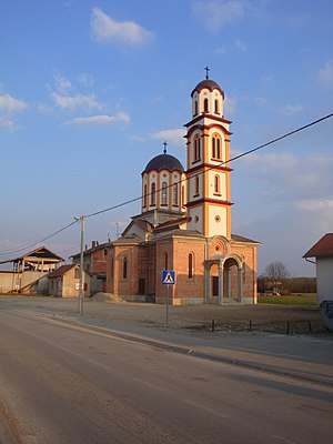 Dragočaj - Serbian Orthodox church in Dragočaj