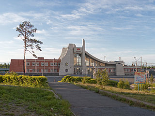 Town in Buryatia, Russia