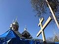 Храм Георгия Победоносца в Красавице (весна 2019).jpg
