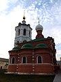 Церковь Сергия Радонежского на могиле Мефодия, игумена Пешношского, восточная часть.jpg
