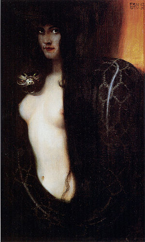 Judith and the Head of Holofernes - The Sin, by Franz Stuck, 1893.