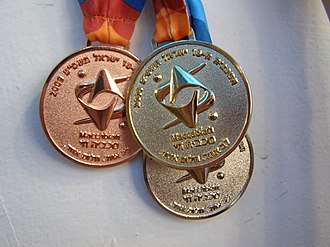 2009 Maccabiah Games - Medals in the 18th Maccabiah, back