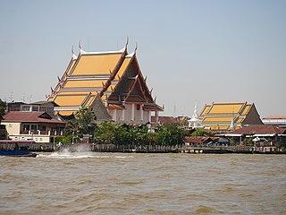 Wat Kanlaya Subdistrict in Bangkok, Thailand