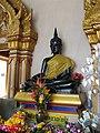 หลวงพ่อดำ วัดตะคร้ำเอน Luang Phor Dam (Black Buddha Image) in Takhram En Temple - panoramio (4).jpg