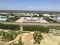 从得仁山上俯瞰北屯市区远处是音乐广场 - panoramio.jpg
