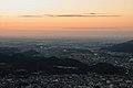 吾妻山山頂より望む関東平野, The view of the Kanto Plains from Mt. Azuma - panoramio.jpg