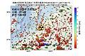 柏崎刈羽原子力発電所周辺の過去1年間の地震の震源分布と地殻変動.jpg