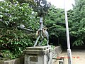 白羽神社神馬像 - panoramio.jpg