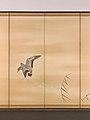 芦雁図屏風; 柳に水上月図屏風-Goose and Reeds; Willows and Moon MET DP704982.jpg