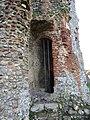-2020-12-01 Barred passageway in the inner gatehouse, Baconsthorpe Castle.JPG