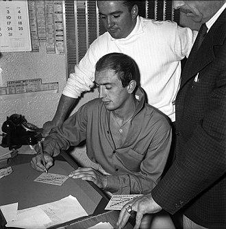 Pierre Lacaze - Pierre Lacaze in 1959