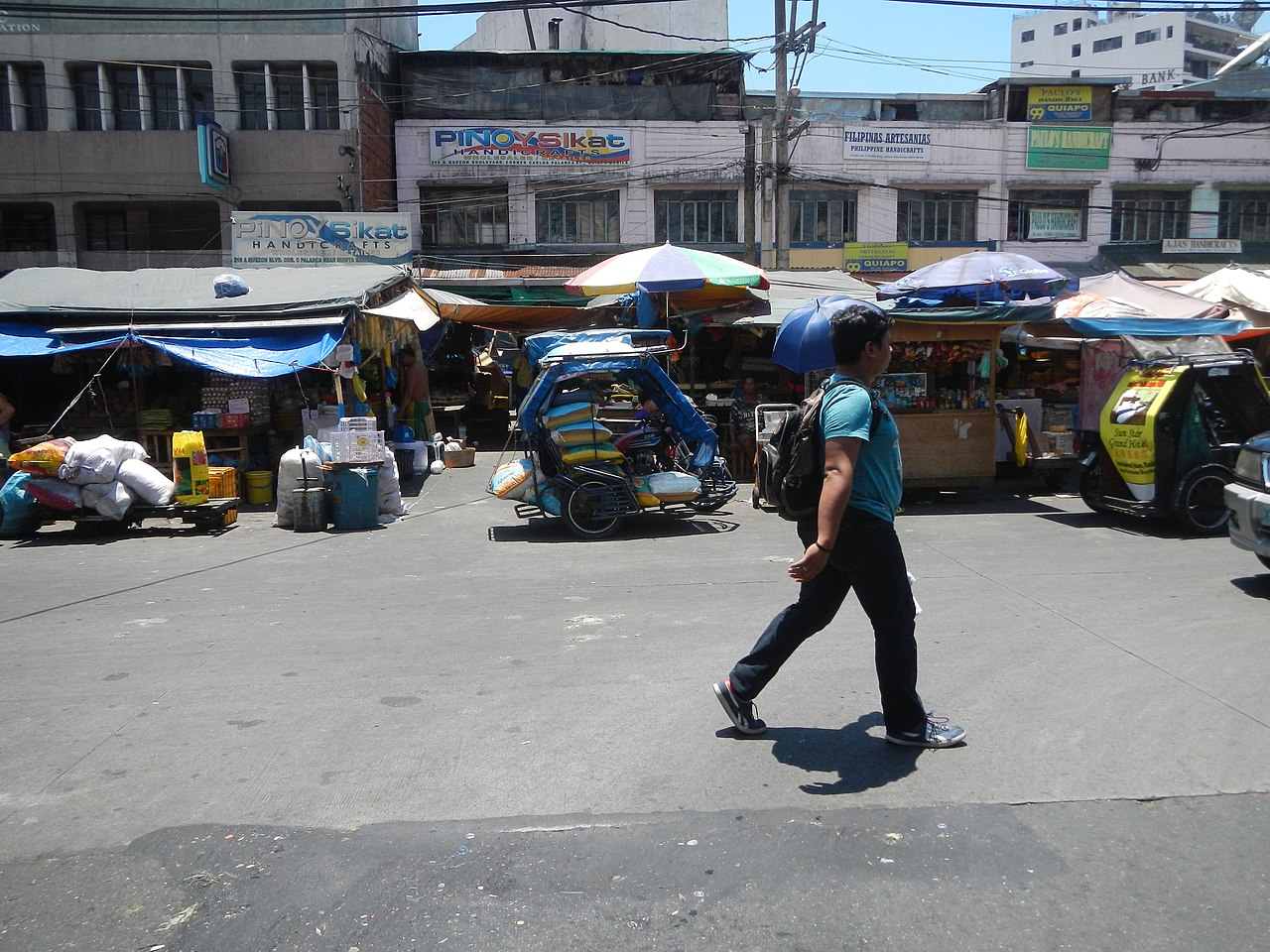 File 01053jfquezon Boulevard Bridge Barangays Quiapo Manilafvf 04