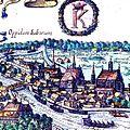 01618 Oppidum Iudeorum Casimiria, Krakau mit Kazimierz 1618.jpg