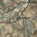 01869 Siegenthal, Galizien, Waldkarpathen, Franzisco-Josephinische Landesaufnahme (1869).jpg