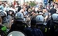 02018 0267 Rangelei zwischen Polizisten und Rechtsradikale Demonstranten bei der CzestochowaPride-Parade, dieselben Gegendemonstranten protestierten gegen LGBT-Parade in Rzeszów.jpg