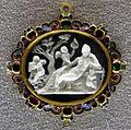 035 arte romana, ermafrodito, calcedonio, III sec dc..JPG