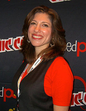 Alisa Kwitney - Kwitney at the 2012 New York Comic Con
