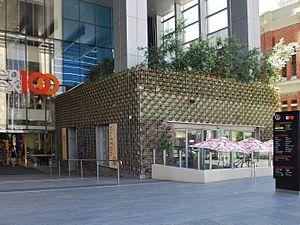 Greenhouse (restaurant) - Image: 100 Saint Georges Terrace Perth