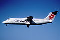 101az - Crossair Avro RJ 100; HB-IXV@ZRH;01.08.2000 (5067224670).jpg