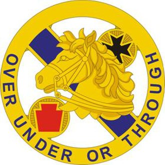 104th Cavalry Regiment - Image: 104 Cav Rgt DUI