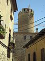 111 El Castell des del carrer de la Pescateria.jpg