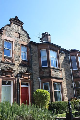 William Menzies Alexander - Alexander's house at 11 St Ninians Terrace, Edinburgh