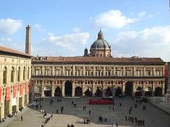 Fachada del Palacio de los Bancos, Bolonia (1565-1568)