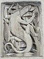 1210 Jedleseerstraße 79-95 Stg. 74 - Relief-Hauszeichen Eidechse von Alfons Riedel 1955 IMG 0813.jpg