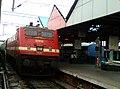 12713 (BZA-SC) Satavahana Express at Vijayawada.jpg