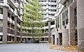 131028 BZ gebouw herfstbladerdans boom voorplein (12905863584).jpg