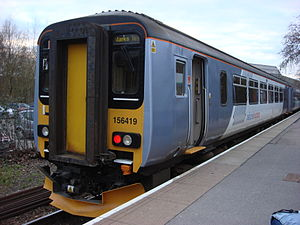 "Metro Cammell - British Rail Class 156 ""Super Sprinter"" diesel multiple unit"