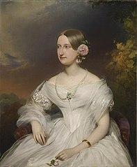Portrait de Marie Caroline Auguste de Bourbon, duchesse d'Aumale