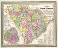 1850 Mitchell Map of South Carolina with Charleston inset - Geographicus - SouthCarolina-mitchell-1850.jpg